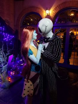 Disneyland Jack & Sally