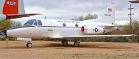 North American CT-39A Sabreliner. Pima Air and Space Museum.