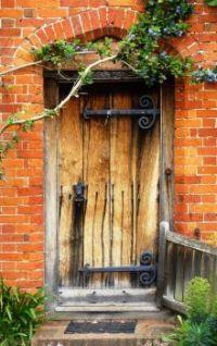 Iron Door Hinges