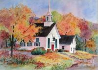 Country Church by Sherri Crabtree