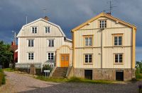 Houses in Sweden, by Helen Simonsson (pic cropped and edited)