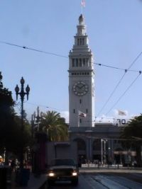 Ferry Building, Embarcadero, San Francisco