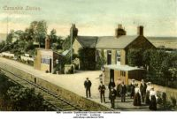 Shires and Such: Canonbie Station, Dumfriesshire