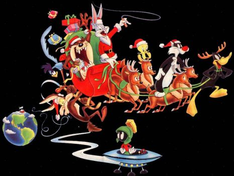 Christmas - Looney Tunes Gang
