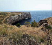 The Cliffs Of Ras id-Dawwara at Għar id-Dwieb
