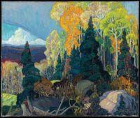 Autumn Hillside by Franklin Carmichael