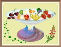 Fruitschaal .