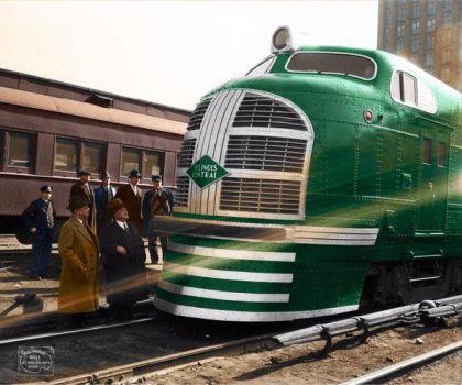 1936 - Green Diamond, Illinois Central
