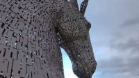 The Kelpies in Falkirk Scotland