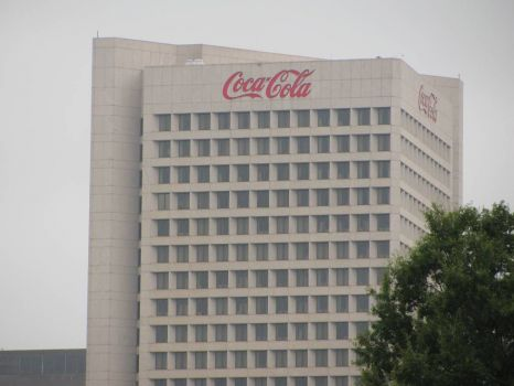 The Coca-Cola Headquarters...Atlanta,Ga.