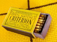 Criterion - safety matches