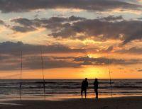 Fishing in Egmond aan Zee