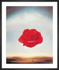 Rose Medidative by Salvador Dali