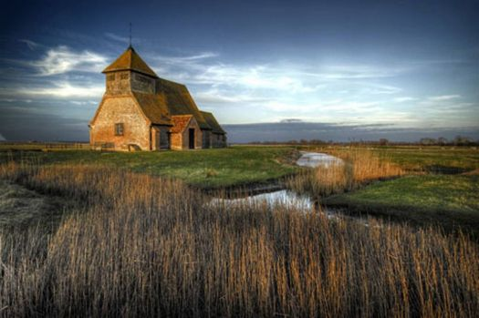 House in the Marshland
