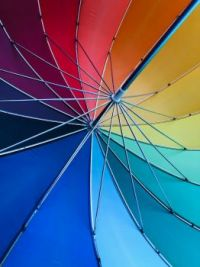 Colorful umbrella  (a lot of pieces for jigidi extremists)