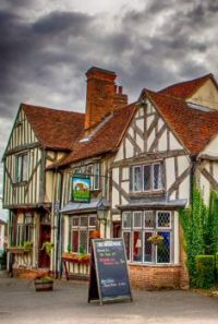 A good old English pub, Coggeshall, Essex