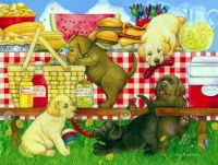 Picnic Puppies