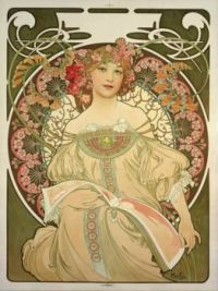 Champagne Printer Publisher, Alphonse Mucha, 1897.
