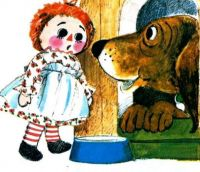 Homes Dog House Little Golden Book Raggedy Ann and the Cookie Snatcher