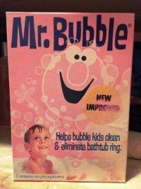 1971 Mr. Bubble Box