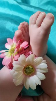 my grandbaby's sweet feet