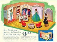 Themes Vintage ads - Barbie Shop