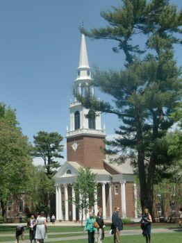 Chapel at Wheaton College, Norton, MA, June, 2014