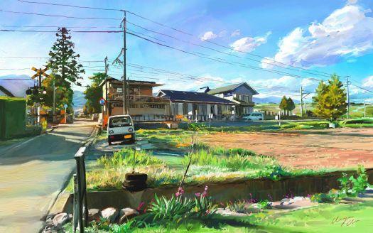 Japan Landscape Village