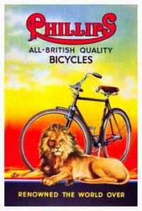 Vintage ad - Phillips Bicycles