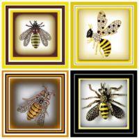 BEEutiful BEE Broaches
