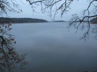 Bezdrev fishpond in November afternoon