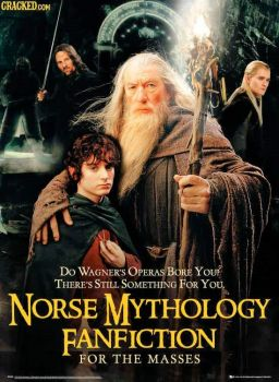 Norse Mythology Fanfiction - Movie Posters That Get Straight To The Point