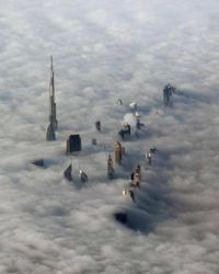 Dubai over the clouds :-)