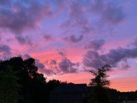 Atlanta evening sky