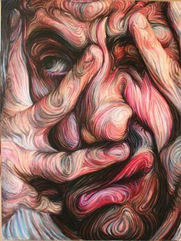 Self Portrait by Nikos Gyftakis