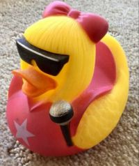 Rock chick duck