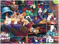 Midnight at the Yarn Shop