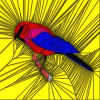 Stained Glass Bird 21 Last one