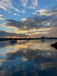 Sunrise at Botany Bay, Sydney Australia