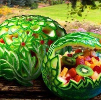 Watermelon Art!!