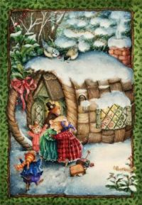 Coming Home for Christmas - Art by Susan Wheeler