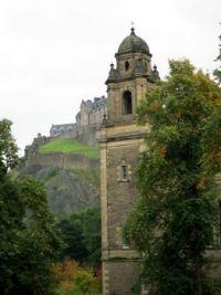 Edinburgh Castle, Another view.