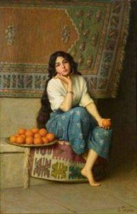 """""""The Orange Seller"""""""