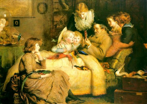 ruling passion by Millais