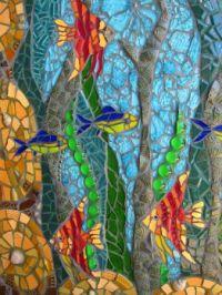 Colorful Fish Mosaic