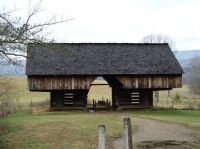 Old Barn in Cades Cove, Smoky Mountains