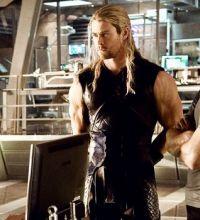 Avengers 2: Thor, sleeveless, leather