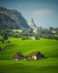 Appenzell Switzerland by Cuma Cevik