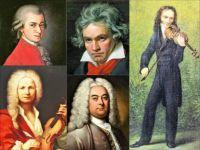 Musicians 64 - Mozart, Beethoven, Paganini, Handel, Vivaldi