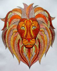 Lion 2 - Coloring Book